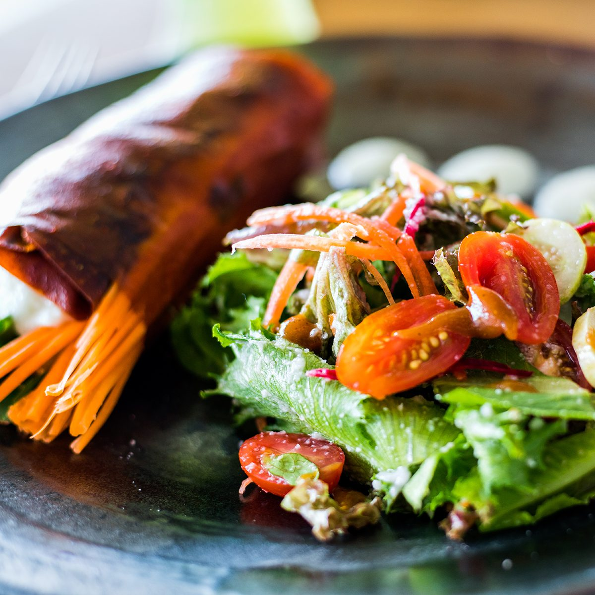Red pepper wrap