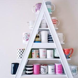 9 Handy DIY Mug Tree and Display Ideas