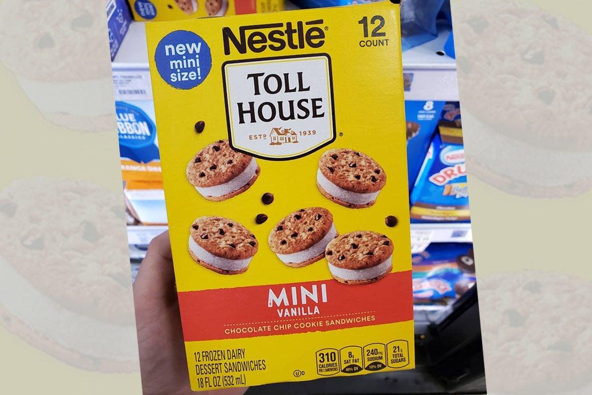 toll house mini cookies