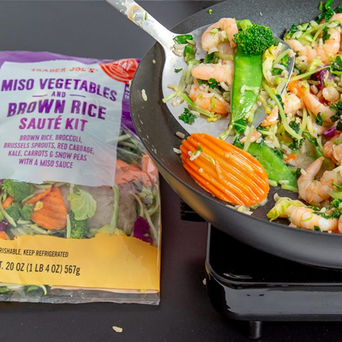 Miso Vegetables and Brown Rice Saute Kit