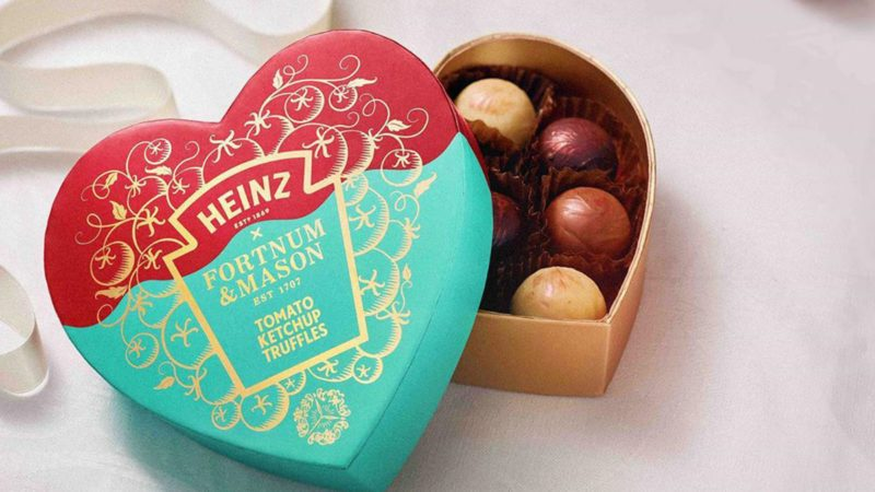 heinz ketchup truffle box