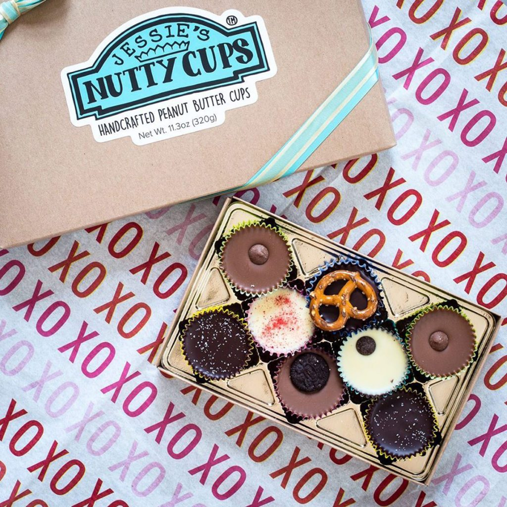 nutty cups