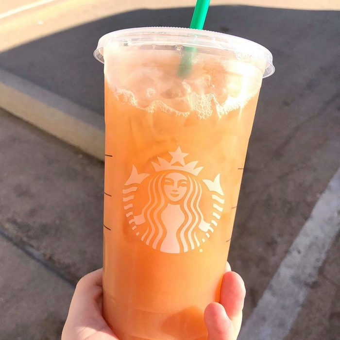 starbucks orange drink