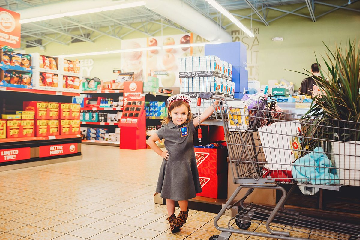 This 4-Year-Old's Aldi-Themed Birthday Party Is Everything We Could Ever Dream Of