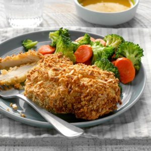Air-Fryer Almond Chicken