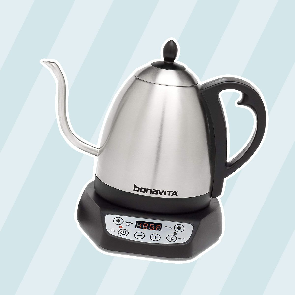 Bonavita BV382510V 1.0L Digital Variable Temperature Gooseneck Kettle