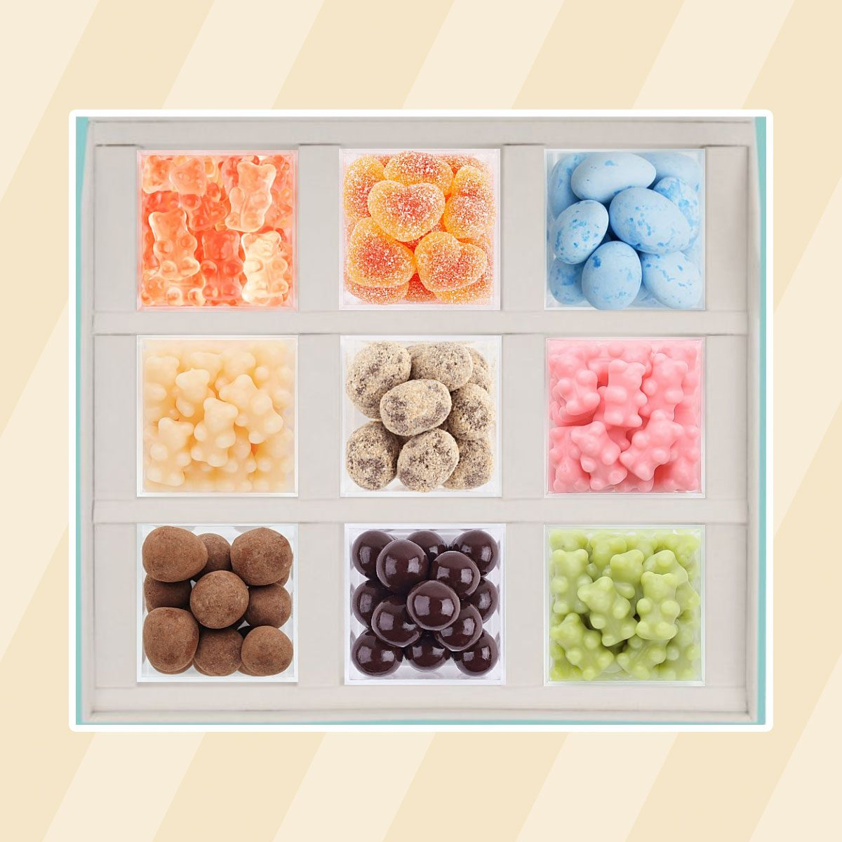 Candy Bento Box care package ideas