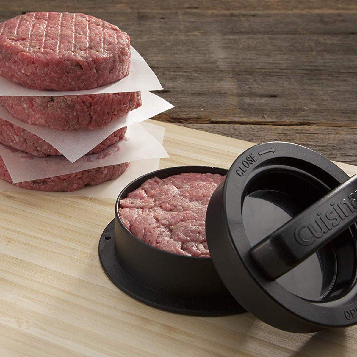 Cuisinart CSBP-100 3-in-1 Stuffed Burger Press, Black