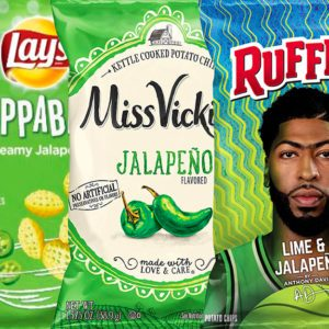 Frito-Lay Is Dropping FIVE New Jalapeno Flavors to Spice up Snack Time
