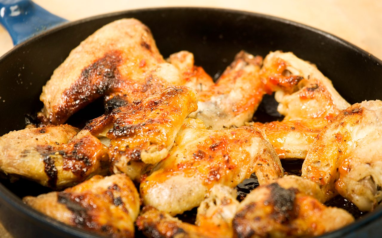 How to Make Pan-Fried Chicken Wings That Are SO GOOD