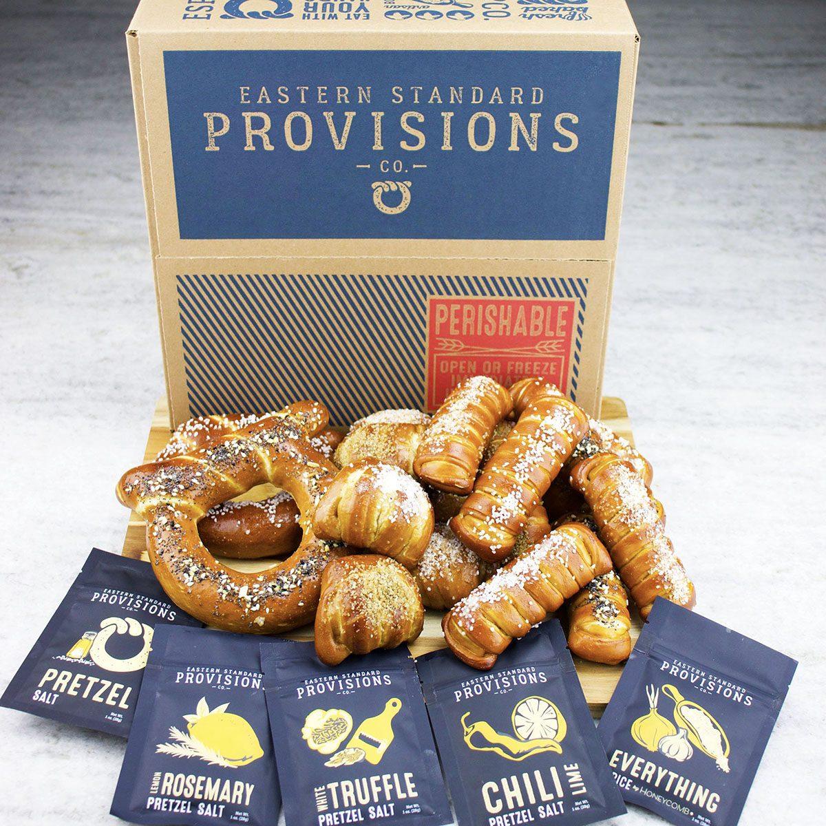 Gourmet Soft Pretzels care package ideas