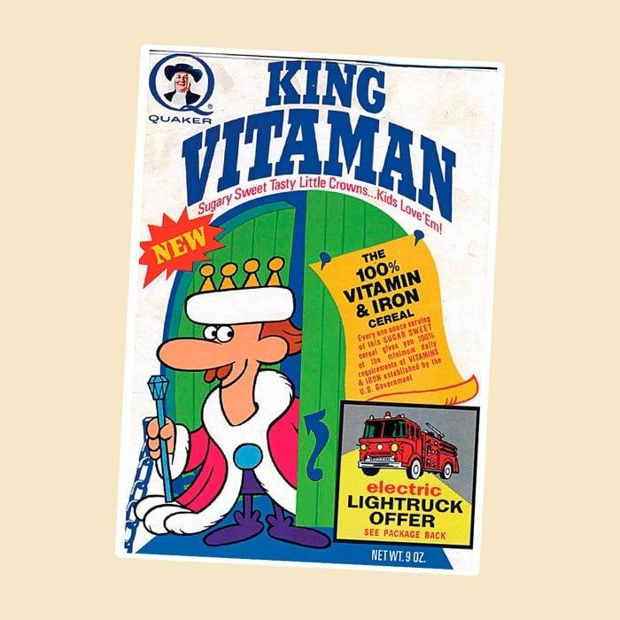 King Vitaman vintage