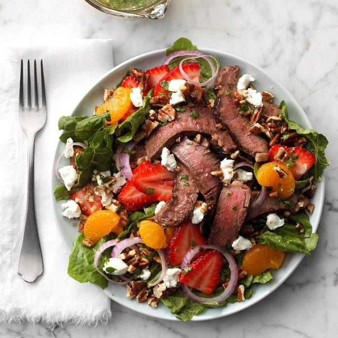 Mandarin Steak Salad