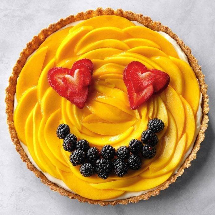 Gemini: Mango Cream Tart
