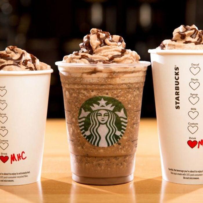 Molten Chocolate Frappuccino