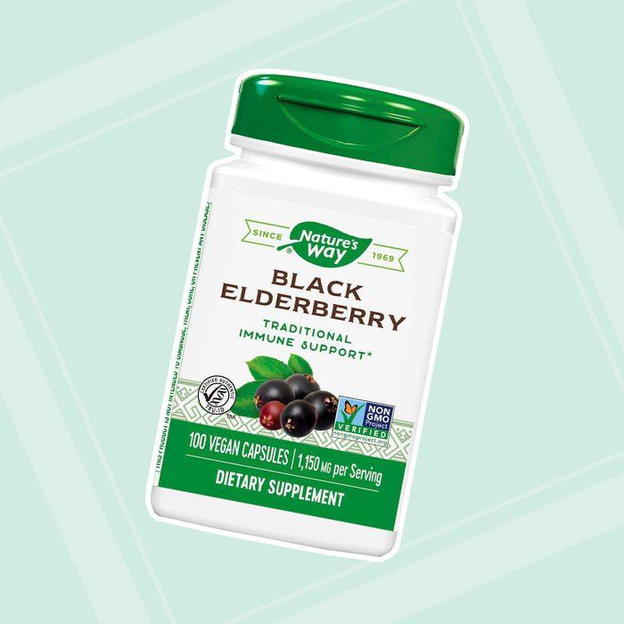 Nature's Way Black Elderberry Capsules