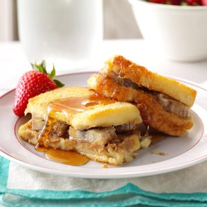 PB & Banana French Toast Bake