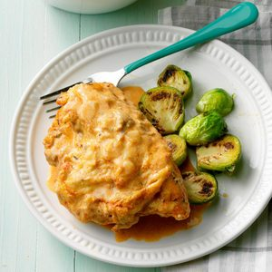 Pressure-Cooker Chicken Paprika