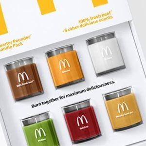 McDonald's Releases Quarter Pounder Candles with New Fan Club