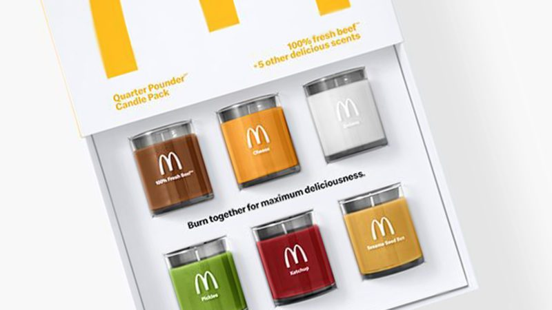 Quarter Pounder Scented Candle Pack