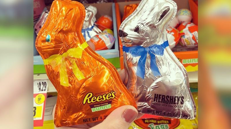This Reese's Chocolate Bunny Is PACKED with Peanut Butter—And Just in Time for Easter