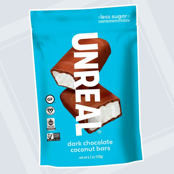UNREAL Dark Chocolate Coconut Bars