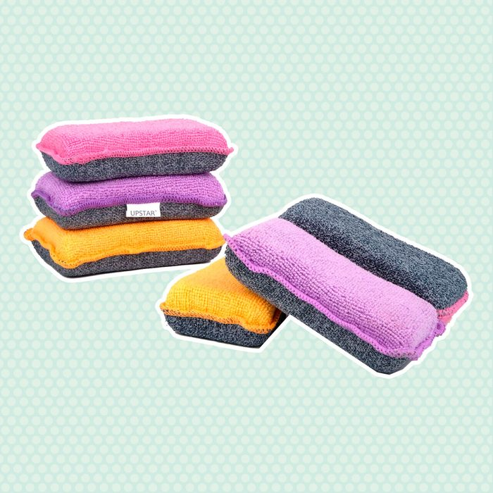 UPSTAR Microfiber Scrubber Sponge