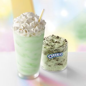 McDonald's Is Rolling Out an Oreo Shamrock McFlurry with Its Shamrock Shakes