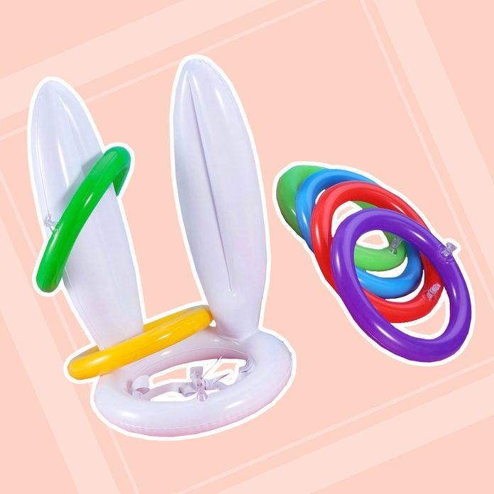 Bunny Ears Ring Toss easter basket stuffers