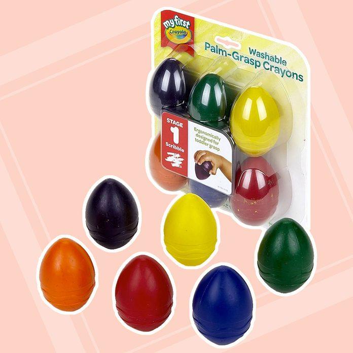 Easter Egg Crayons easter basket stuffers