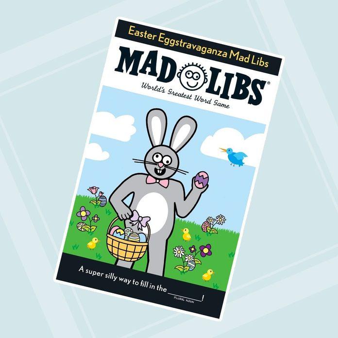 easter basket stuffers Easter Mad Libs