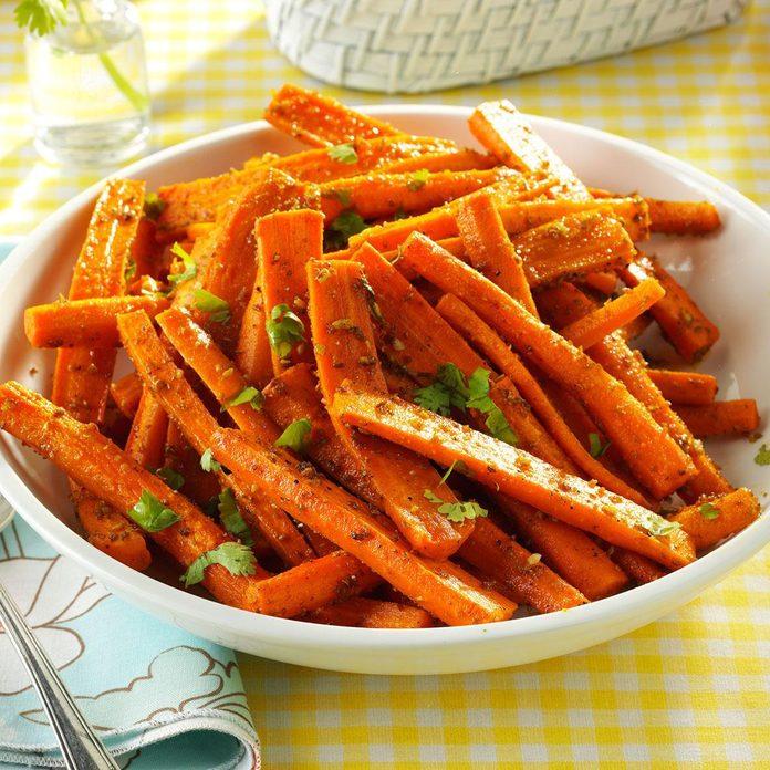 Air-Fryer Cumin Carrots