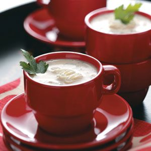 "Wild Mushroom Soup ""Cappuccino"""