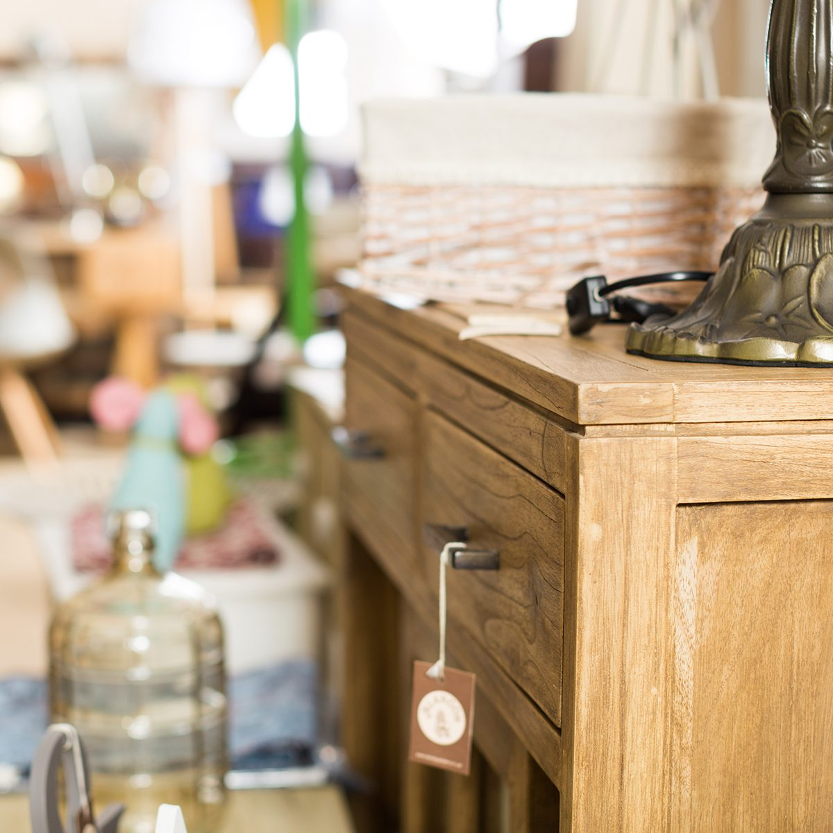 Variety of assortments in store of antique furniture