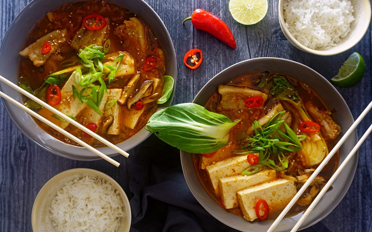 This 30-Minute One-Pot Korean Soup Is Insanely Delicious