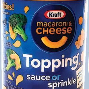 Kraft Is Selling a Shaker of Mac 'n' Cheese Topping, and We're Putting It on EVERYTHING