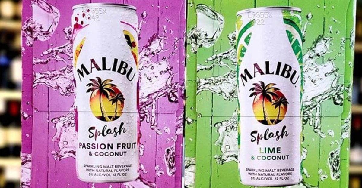 malibu rum splash social