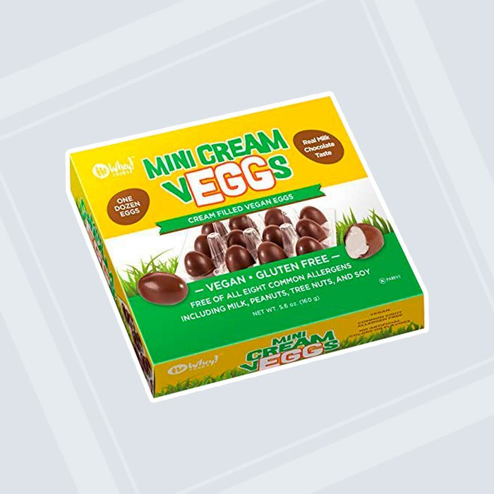 No Whey Cream-Filled Vegan Chocolate Eggs