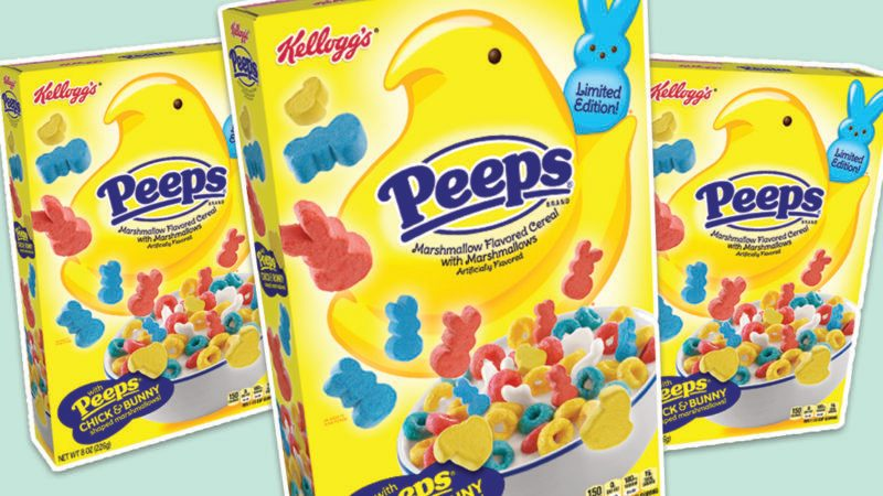 peeps cereal social feature