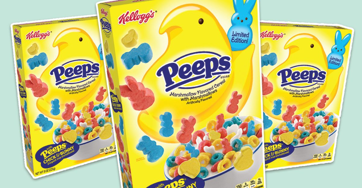 Kellogg's Peeps Cereal Is BACK at Target to Sweeten up Your Easter