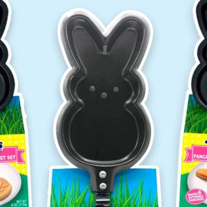 This Peeps Pancake Skillet Makes Your Breakfast Bunny-Shaped—and It's Adorable
