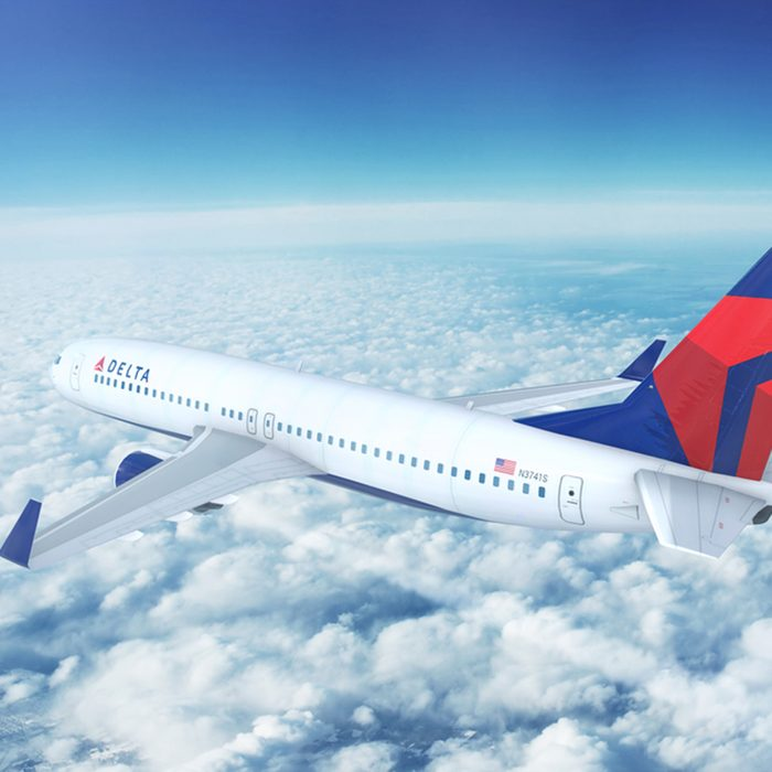 LOS ANGELES/CALIFORNIA - APRIL 20th, 2017: Delta Airlines Boeing 737-800 on approach to runway at Los Angeles International Airport in Los Angeles, California, USA. 3D Illustration; Shutterstock ID 625919711; Job (TFH, TOH, RD, BNB, CWM, CM): RD