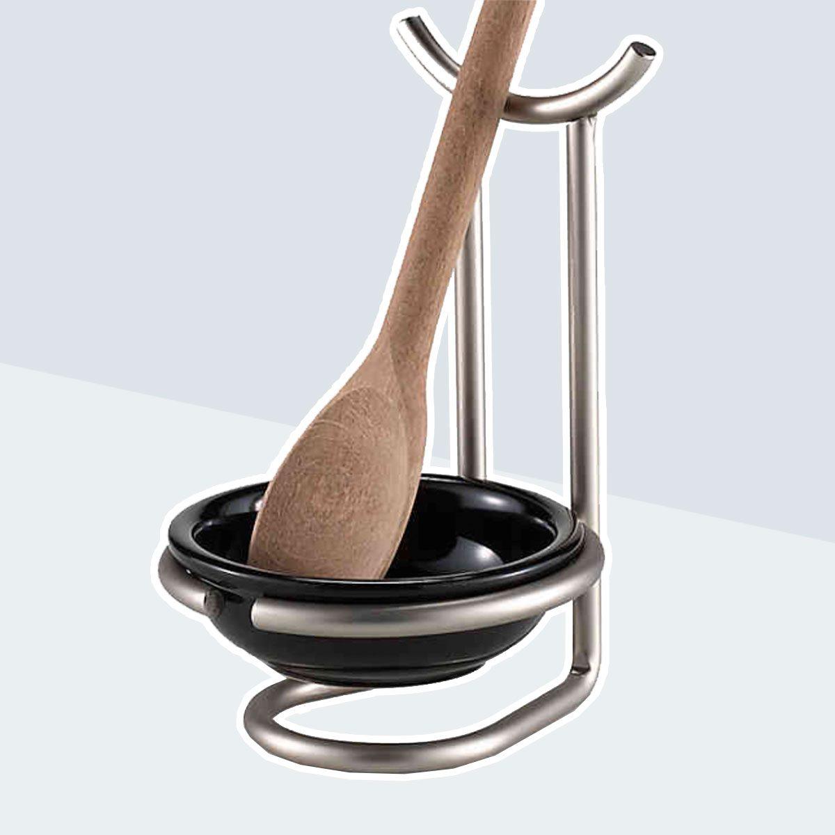 Spectrum™ Euro Spoon Rest with Ceramic Dish