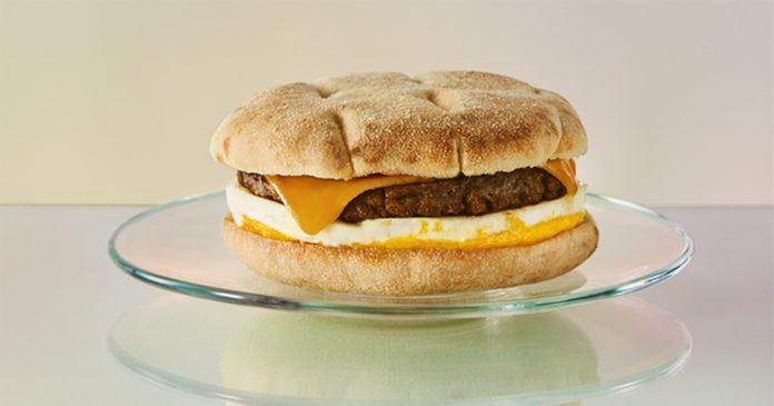 starbucks beyond meat breakfast sandwiches