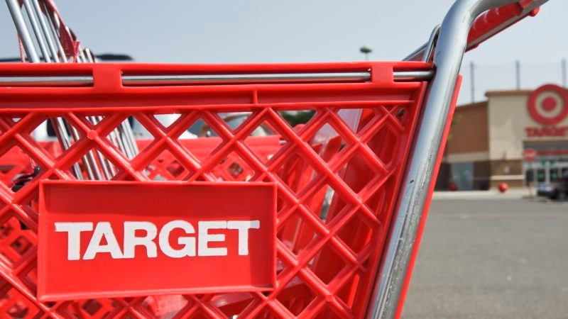 A Target discount store