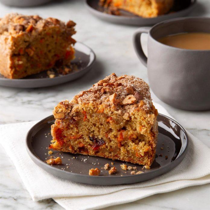 Air-Fryer Carrot Coffee Cake