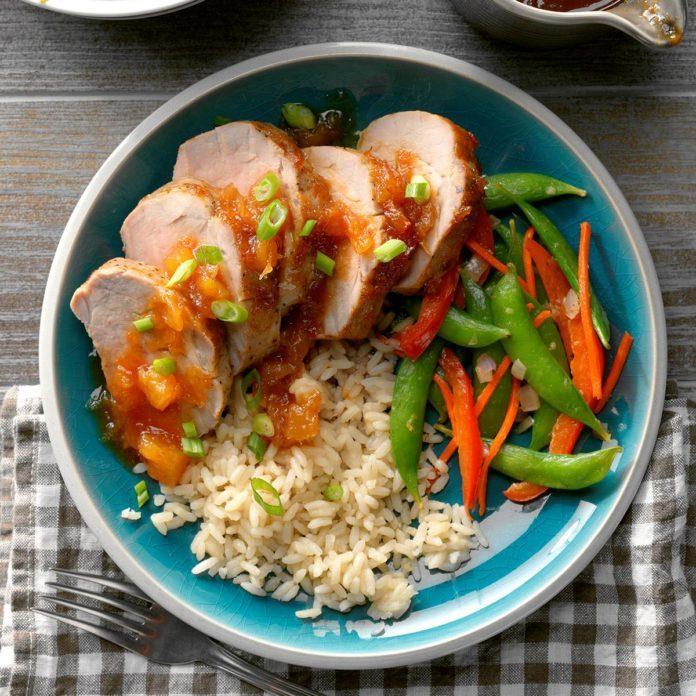 Air-Fryer Sweet and Sour Pork