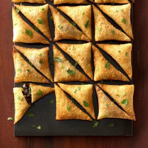 Air-Fryer Beef Wellington Wontons