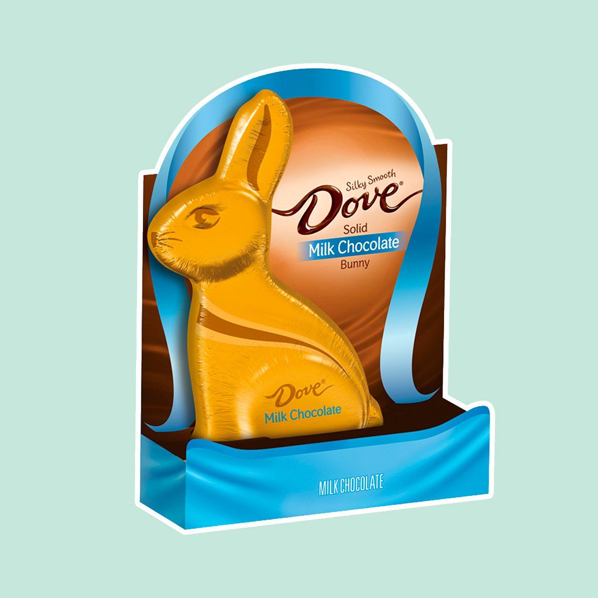 DOVE Solid Milk Chocolate Bunny