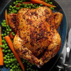 Lemon-Roasted Chicken